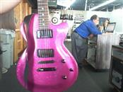 DAISY ROCK GUITAR Electric-Acoustic Guitar 6225 PINK SPARKLE GUITAR